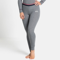 Women's ACTIVE WARM ORIGINALS ECO Baselayer Bottoms, grey melange, large