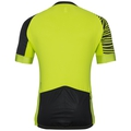 Stand-up collar s/s full zip UMBRAIL Ceramicool X-Light, acid lime - black, large