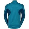 Men's BLAZE CERAMIWARM 1/2 Zip Midlayer, poseidon - blue jewel - stripes, large