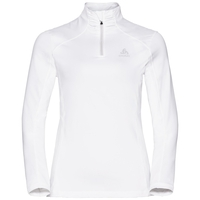 Midlayer con 1/2 zip STEEZE da donna, white, large
