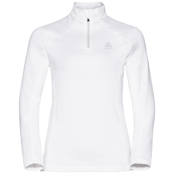 Pull ½ zip STEEZE pour femme, white, large