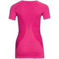 Shirt s/s crew neck ESSENTIALS seamless WARM, pink glo, large