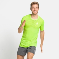 Men's ESSENTIAL SEAMLESS T-Shirt, lounge lizard melange, large