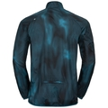 Herren OMNIUS LIGHT Jacke, blue coral - AOP FW18, large