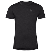 Men's NATURAL + LIGHT Base Layer T-Shirt, black, large