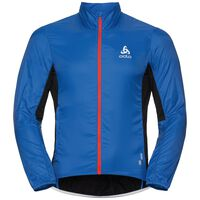 Jacket FUJIN LIGHT, energy blue - black, large