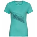 T-shirt F-DRY PRINT pour femme, jaded - graphic SS21, large