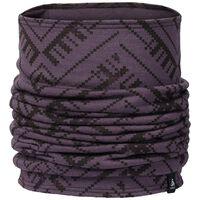 Natural 100 % MERINO Warm Schlauchschal, vintage violet - AOP FW18, large