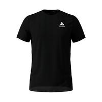 T-shirt s/s crew neck ACTIVE, black, large