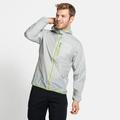 Men's FLI WINDPROOF DWR Jacket, odlo silver grey, large