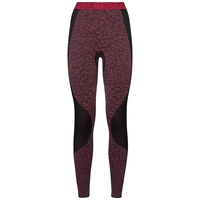Pantaloni Base Layer BLACKCOMB da donna, black - cerise - cerise, large