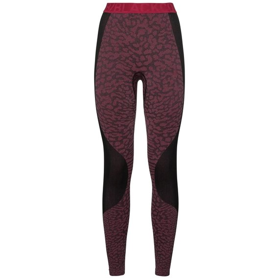 Damen BLACKCOMB Funktionsunterwäsche Hose, black - cerise - cerise, large