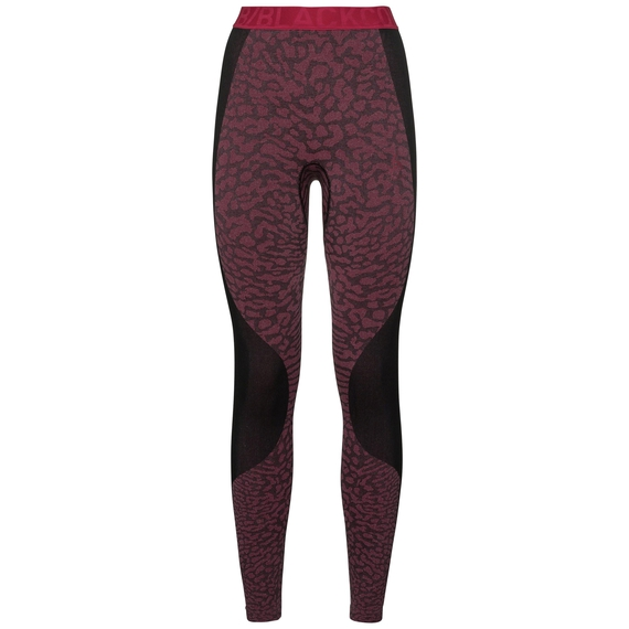 Women's BLACKCOMB Base Layer Pants, black - cerise - cerise, large