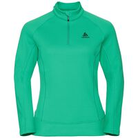 Midlayer 1/2 zip INYO, mint leaf, large