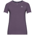 Damen ZEROWEIGHT CERAMICOOL LIGHT T-shirt, vintage violet, large