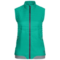 Gilet zippé COCOON S, mint leaf, large