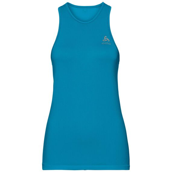 BL TOP Crew neck Singlet ZEROWEIGHT X-LIGHT, blue jewel, large