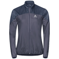 CORE LIGHT Jacke, odyssey gray - diving navy, large