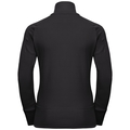 Midlayer 1/2 zip BIRDY, black, large