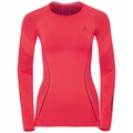 SUW Top Crew neck l/s PERFORMANCE MUSCLEFORCE RUNNING Warm, diva pink - odyssey gray, large