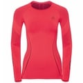 SVS top col ras du cou manches longues Performance MUSCLE FORCE RUNNING Warm, diva pink - odyssey gray, large