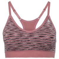 PADDED SEAMLESS SOFT-sportbeha, mesa rose, large