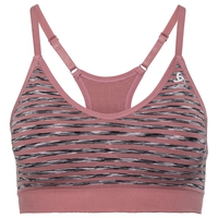 PADDED SEAMLESS SOFT Sport-BH, mesa rose, large