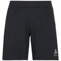 Men's MILLENIUM ELEMENT Running Shorts, black melange, large