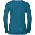 BL TOP Crew neck l/s KUMANO DRY, crystal teal, large
