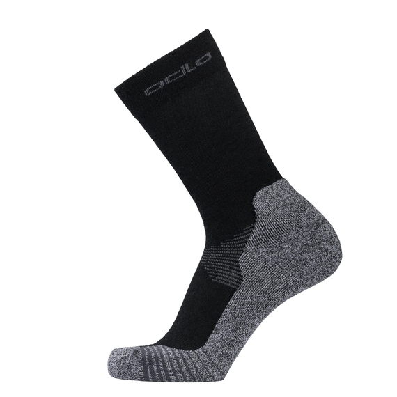 CERAMIWOOL CREW Outdoor-Socken, black, large