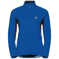 STRYN cross-country softshell jacket, lapis blue - peacoat, large
