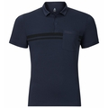 Polo shirt s/s SPUR, peacoat, large