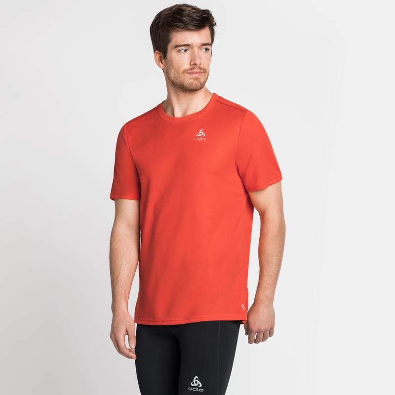 F-DRY-T-shirt voor heren, mandarin red, large