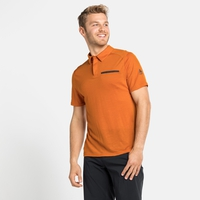 Men's CONCORD NATURAL Polo Shirt, marmalade, large