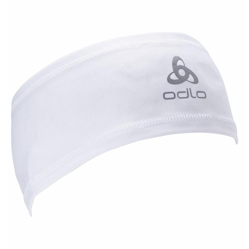 Polyknit Light ECO Stirnband, white, large