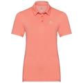 Women's CARDADA Polo Shirt, coral haze, large