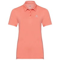 Women's CARDADA Polo Shirt, coral haze, large