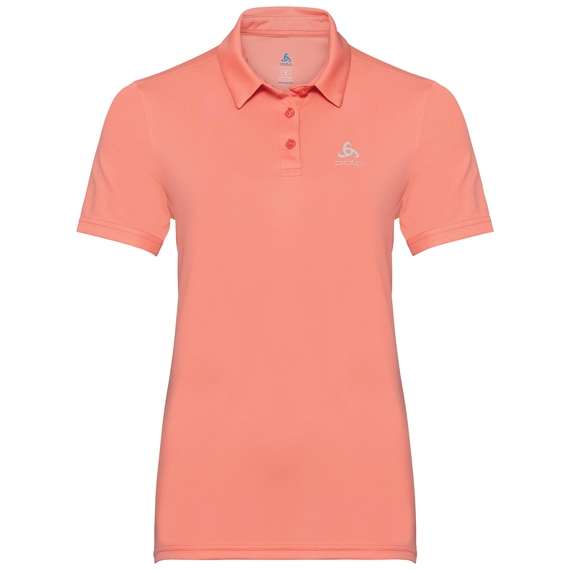 Damen CARDADA Poloshirt, coral haze, large