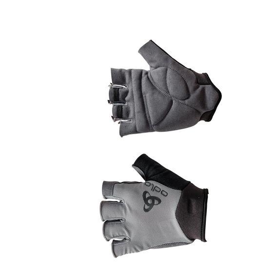 Gloves short ACTIVE, odlo steel grey, large