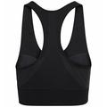 Women's SEAMLESS MEDIUM Sports Bra, black, large