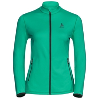 Women's ALAGNA Full-Zip Midlayer Top, mint leaf, large