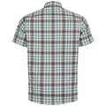 Men's NIKKO CHECK Shirt, snow white - arctic - chili oil - check, large