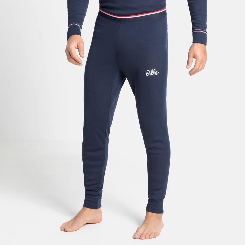 Herren ACTIVE WARM ORIGINALS ECO Base Layer Pants, diving navy, large