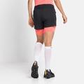 Women's AXALP TRAIL 6 INCH 2-in-1 Running Shorts, black - siesta, large