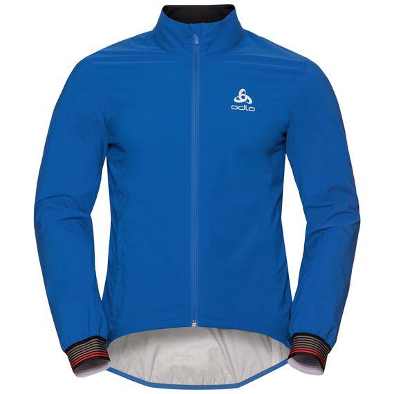 Jacket TYFOON, energy blue, large
