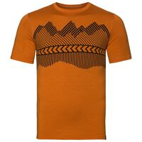 ALLIANCE Baselayer T-Shirt, Hawaiian sunset - placed print FW18, large