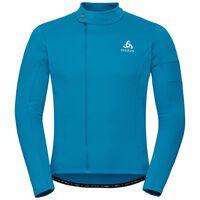 Stand-up collar l/s full zip LOMBARDIA Warm, blue jewel, large