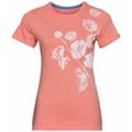 Damen KUMANO PRINT T-Shirt, lantana - flower leaf print SS20, large