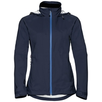 Damen WATERTON STRETCH Hardshell-Jacke, diving navy, large