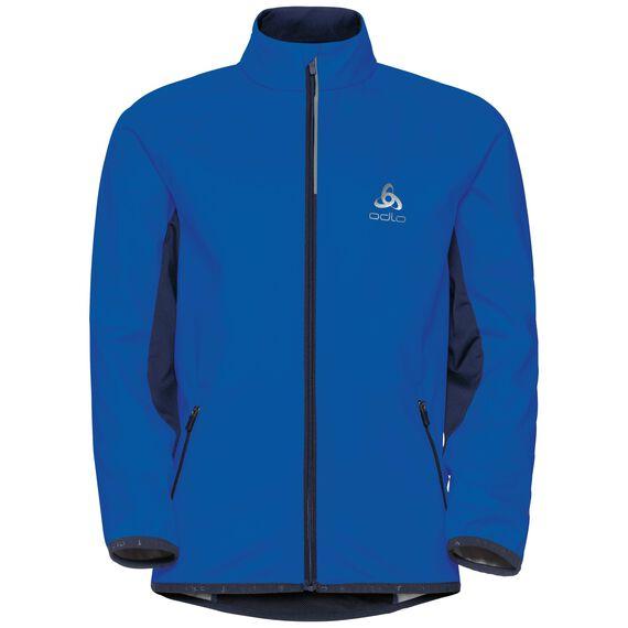Cross-country jacket STRYN Kids, lapis blue - peacoat, large